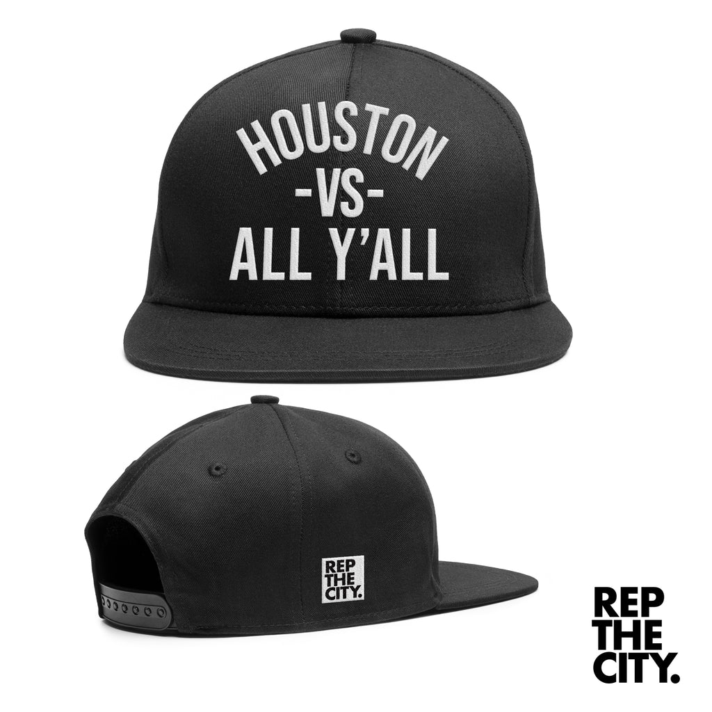 Houston vs All Y'all Hat Black