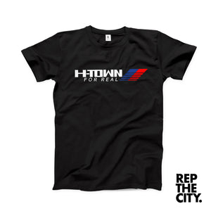H-Town For Real Tee Black