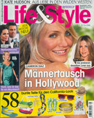cover of Life & Style Magazine June 12 2008 issue featuring Shari Wacks jewelry