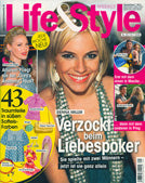 cover of Life & Style Magazine July 10 2008 issue featuring Shari Wacks jewelry