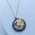Antiqued Two-Tone Om Necklace