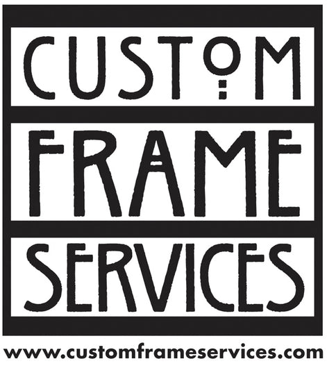 The Dana L. Wiley GALLERY  is proud to have  Custom Frame Services, Inc. as a foundational sponsor.