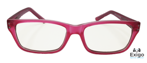 Savvy Pink Children's Blue Light Computer Glasses