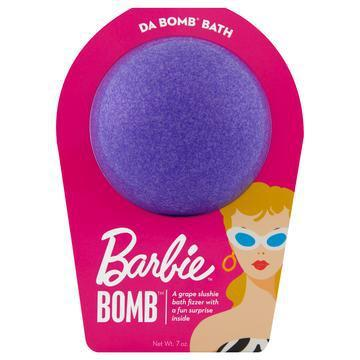 Da Bomb Bath Fizzers | Barbie Purple Bomb | - Preppy Pineapple Boutique