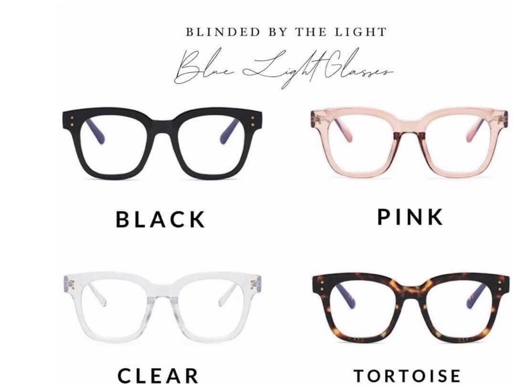 Julia Rose Wholesale | Blinded By The Light Blue Light Glasses | - Preppy Pineapple Boutique