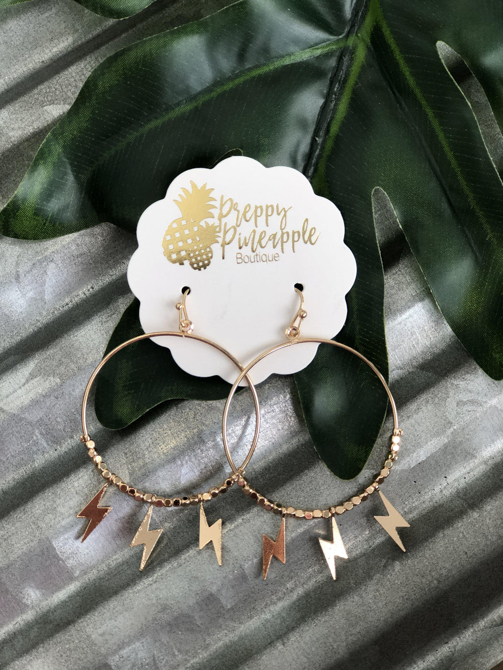 Braidy Earrings - Preppy Pineapple