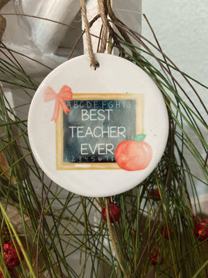 Brittney Crimminger | Ceramic Ornaments | - Preppy Pineapple Boutique