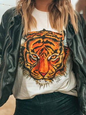 Prickly Pear TX | Eye of the Tiger Tee | - Preppy Pineapple Boutique