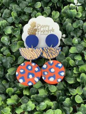 Gameday Dangles - Preppy Pineapple