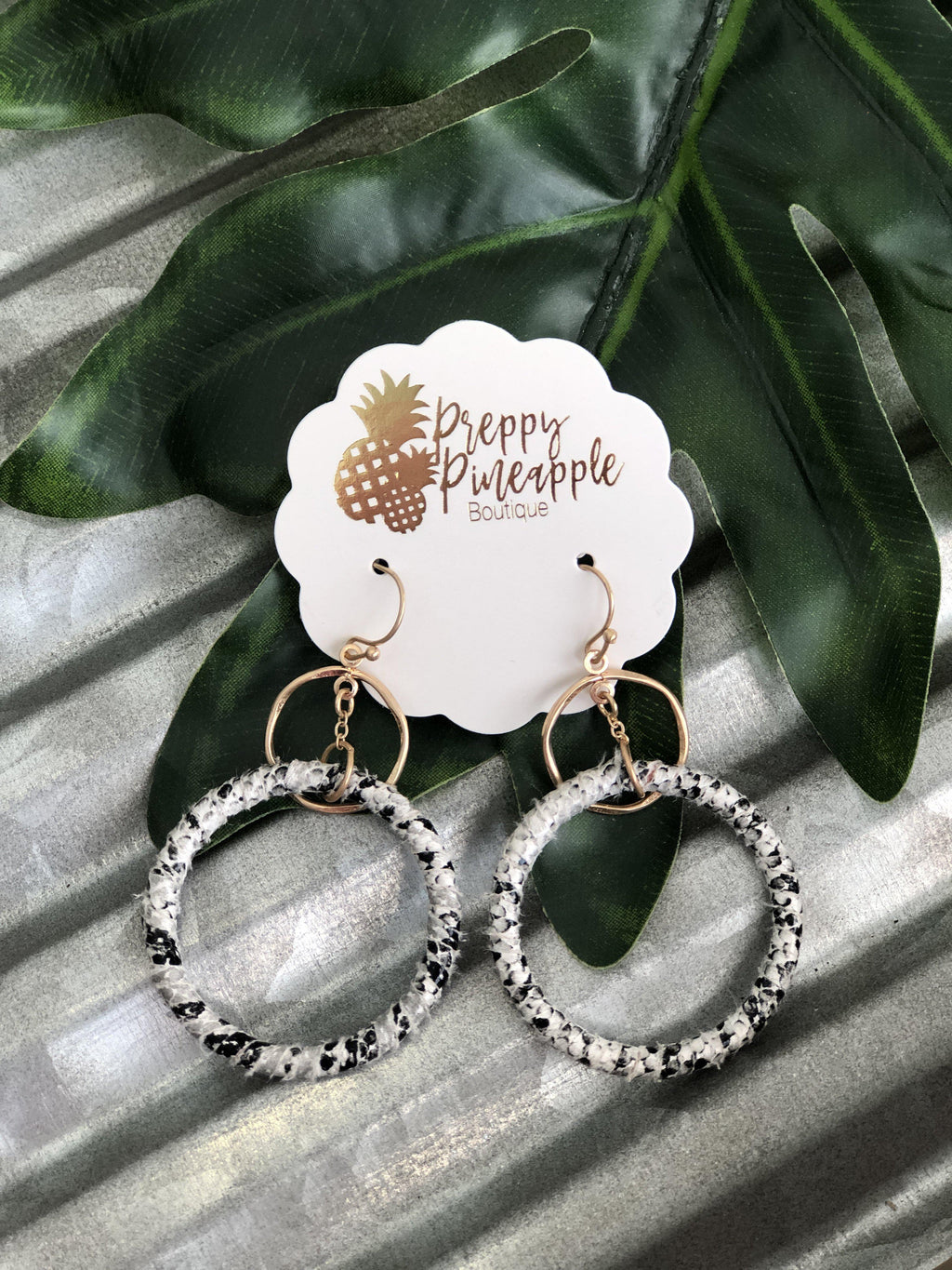 Lorelle Earrings - Preppy Pineapple