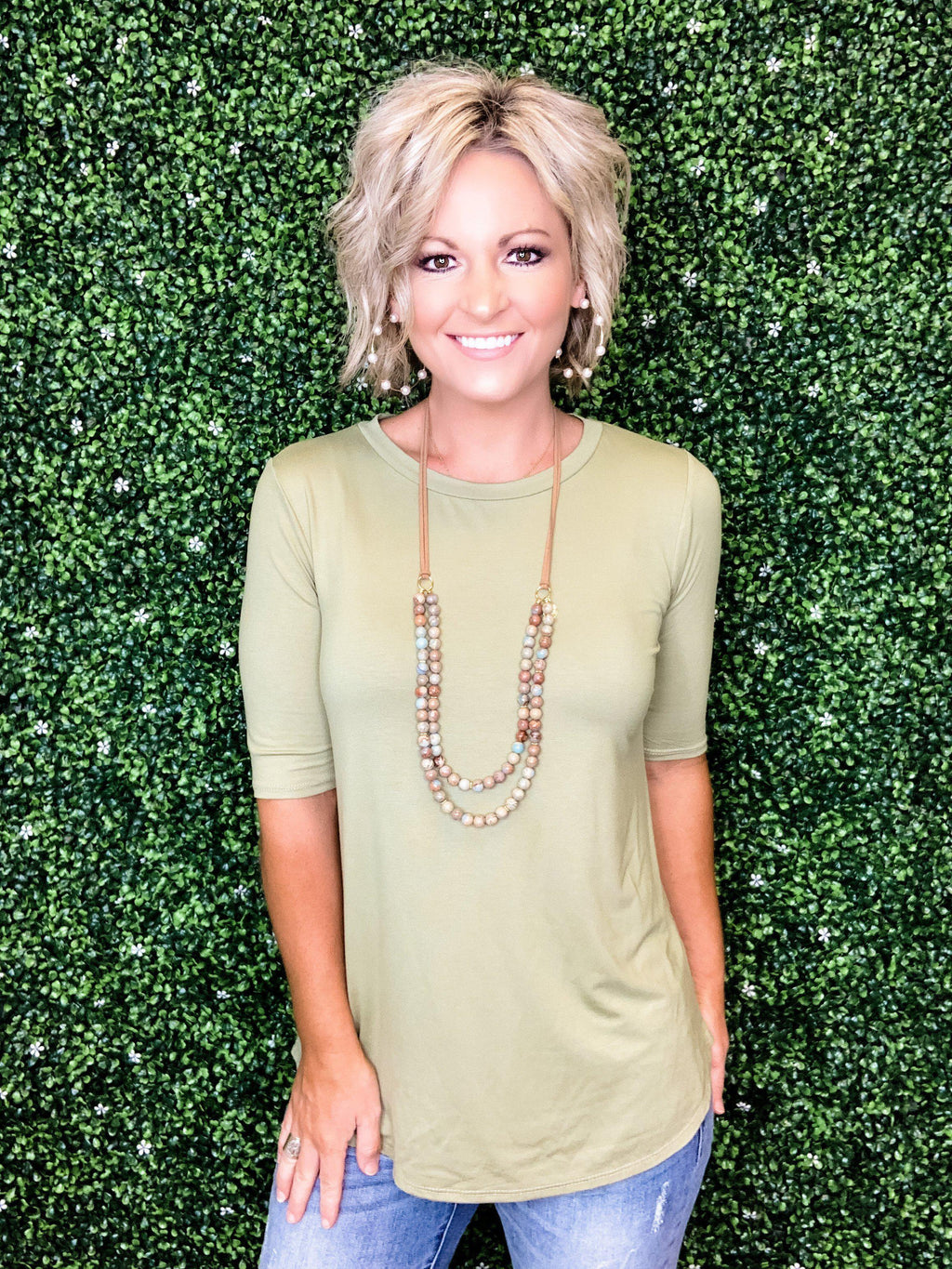 Make It Easy Tunic Top - Preppy Pineapple
