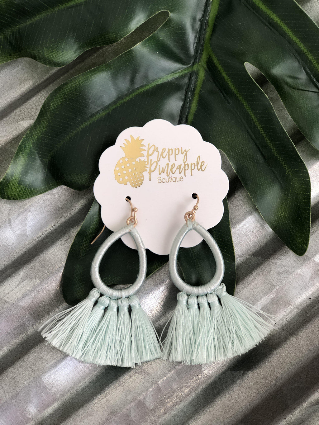 Nicole Earrings - Preppy Pineapple