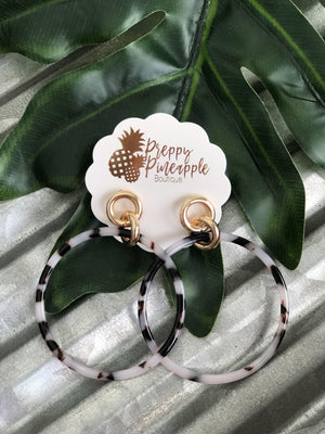 Oaklynn Earrings - Preppy Pineapple