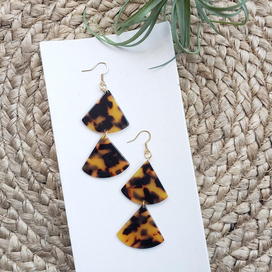 Riley Earrings - Preppy Pineapple