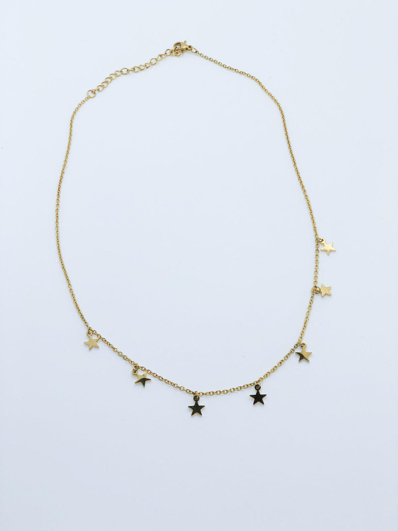 Star of the Show Necklace - Preppy Pineapple