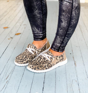 Wolfpack Brands | Starstruck Cheetah Sneakers by Gypsy Jazz | - Preppy Pineapple Boutique