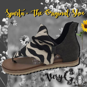 Very G Sparta Sandal - Preppy Pineapple