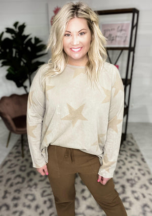 Easel | You're a Star Top | - Preppy Pineapple Boutique