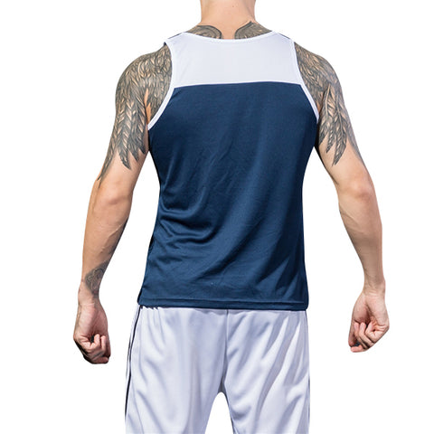 Mens Breathable Sweat Sleeveless Vest - unitedstatesgoods