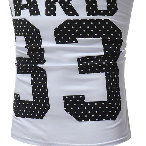 Men's Fashion Digital 33 Print Casual Vest - unitedstatesgoods