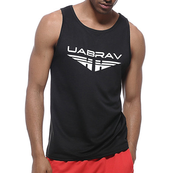 Men's Quick Drying Breathable Jogging Fitness Vest Sport Running Training Tank Tops - unitedstatesgoods