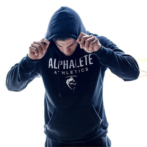 2018 Men gyms hoodies men Fitness bodybuilding Sweatshirt Crossfit pullover sportswear male workout Hooded Jacket clothing - unitedstatesgoods