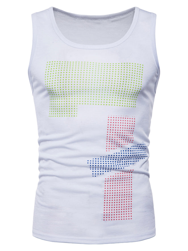 Polka Dot Workout Tank Top - unitedstatesgoods