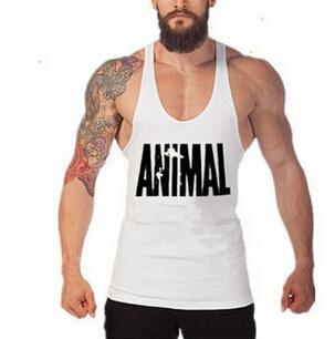 2019 Man High Quality Tank Top Muscle Bodybuilding Gym Tee Hot Sell Cotton Shirt Wholesale - unitedstatesgoods