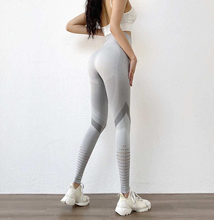 Cutout women's yoga trousers