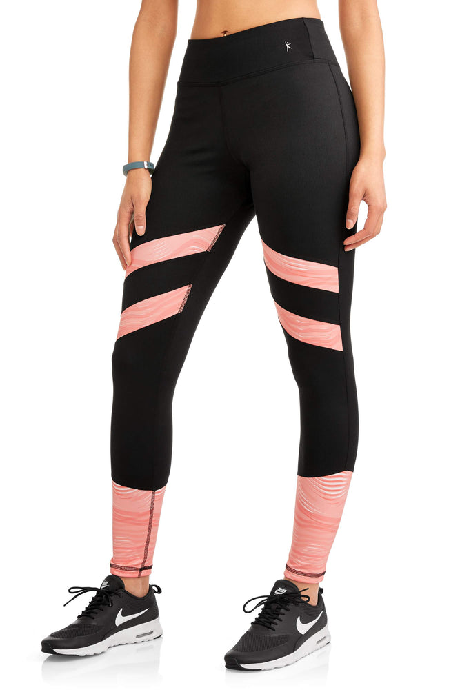 Danskin Now Women's Active Colorblock Performance Legging - unitedstatesgoods