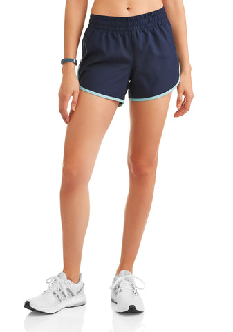 women's active woven running shorts with built-in liner - unitedstatesgoods