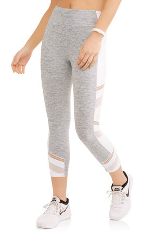 Women's Active Filament Block Capri Performance Legging - unitedstatesgoods
