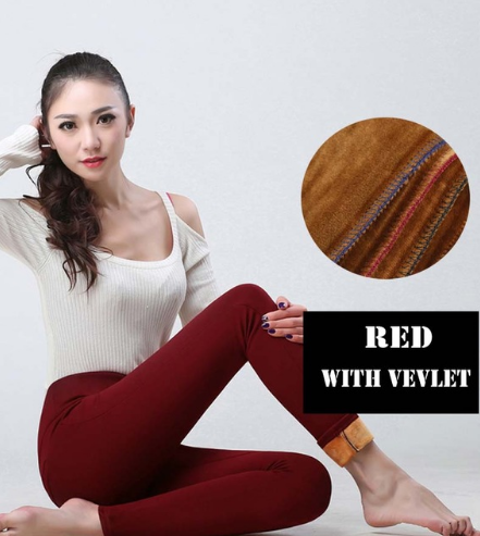 High Waist Elastic Casual stretch Pants