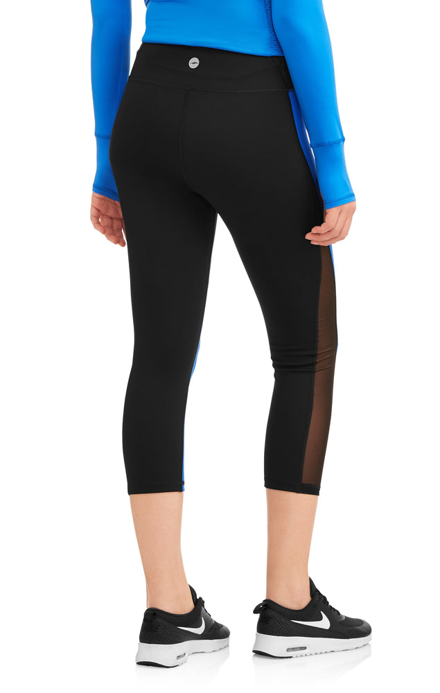 Avia Women's Core Flex Tech High Rise Colorblock Compression Legging - unitedstatesgoods