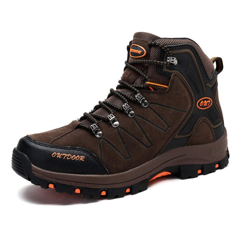 Men's Mid Trekking Hiking Boots Outdoor Lightweight Hiker - unitedstatesgoods