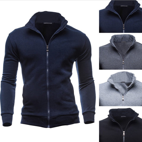 Bigsweety Plus Size 3XL Autumn Winter Fleece Hoodies Men Sweatshirts Zipper Fitness Hoody Jackets And Coats For Men Cardigans - unitedstatesgoods