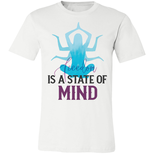 Is a state of mind 3001C Unisex Jersey Short-Sleeve T-Shirt