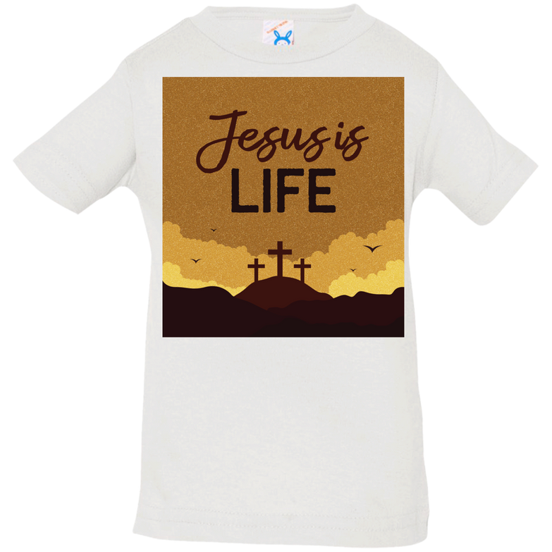 Jesus is life 3322 Infant Jersey T-Shirt