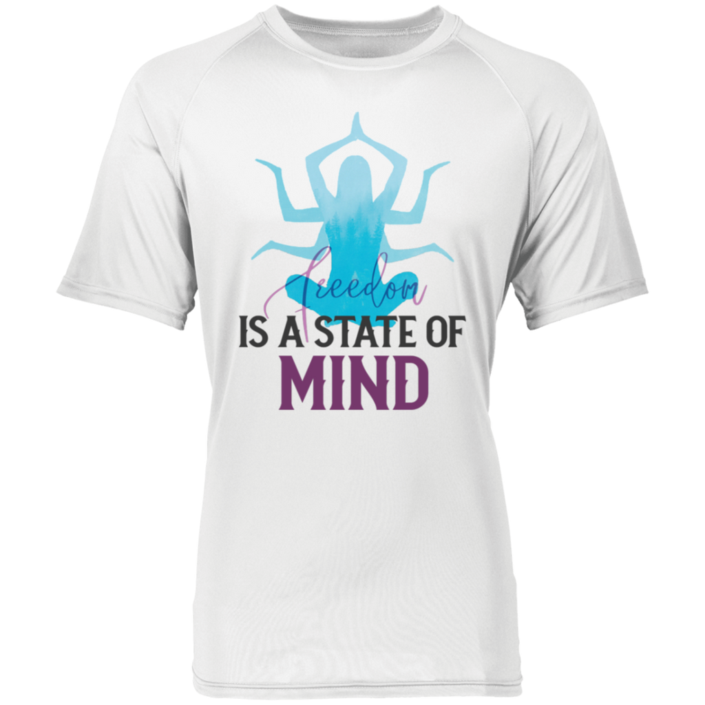 Is a state of mind 2790 Raglan Sleeve Wicking Shirt