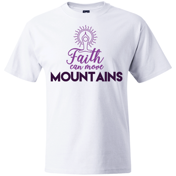 Faith can move mountains 5180 Beefy T-Shirt