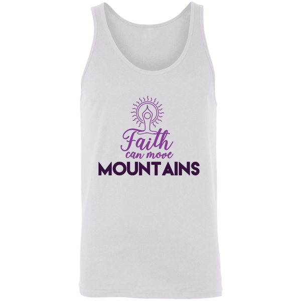 Faith can move mountains 3480 Unisex Tank