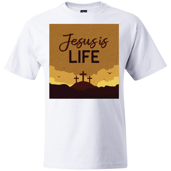 Jesus is life 5180 Beefy T-Shirt