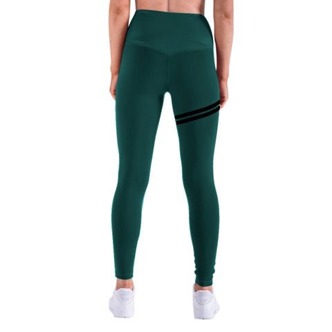 NORMOV New Hotsale Women Gold Print Leggings No Transparent Exercise Fitness Leggings Push Up Workout Female Pants