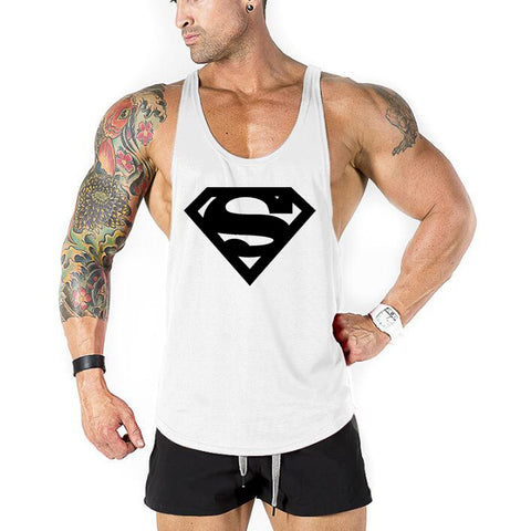 New brand Gyms Clothing Tank Tops Fitness Mens Bodybuilding Tanktops Cotton Vest For Muscle Men body Workout Sleeveless Shirt - unitedstatesgoods