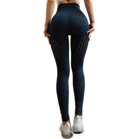 Seamless Tummy Control Yoga Pants Stretchy High Waist Compression Tights Sports Pants Push Up Running Women Gym Fitness Leggings