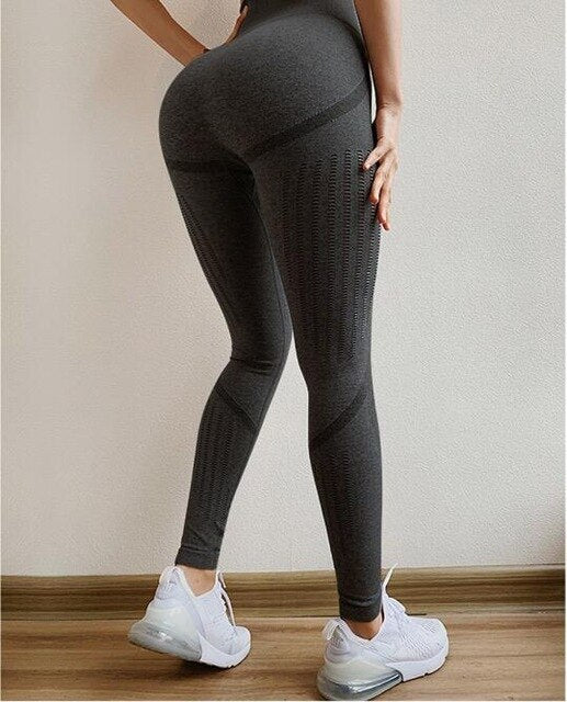 X-HERR High Waist  Sport Workout Tights Jogging Legging Running Gym Fitness Yoga Tight Active Pants