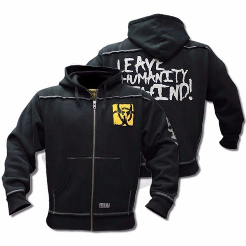 Mutant Winter  Fitness Men Gyms Hoodies Sweatshirt Bodybuilding Hoody Zipper Casual Sweatshirt Men's Slim Fit Hooded Jacket - unitedstatesgoods