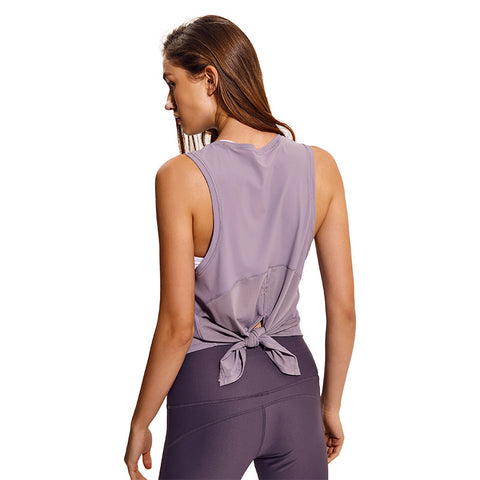 NWT Activewear Running Workouts Clothes Open Back Yoga Tank Tops Stretch Sexy Blouse Gym Tank Sleeveless Shirts Sports Crop Top - unitedstatesgoods