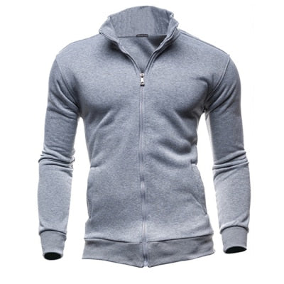 Plus Size 3XL Autumn Winter Fleece Hoodies Men Sweatshirts Zipper Fitness Hoody Jackets And Coats For Men Cardigans - unitedstatesgoods