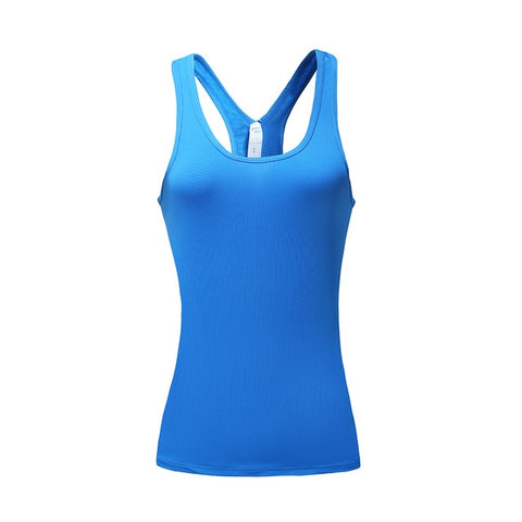 WOSAWE Yoga Tops Women Sexy Gym Sportswear Vest Fitness Tight Woman Clothing Sleeveless Running Shirt Quick Dry Yoga Tank Top
